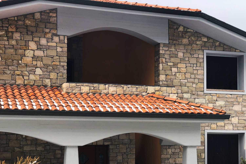 villa incollato fugato pietra credaro